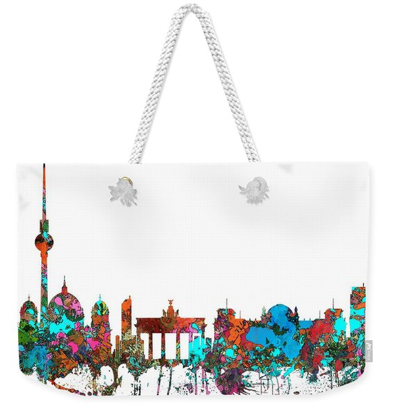 Berlin Germany Skyline  Weekender Tote Bag
