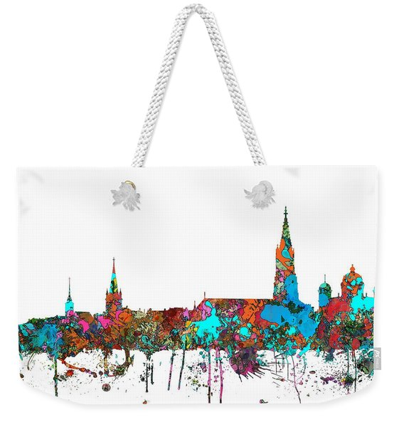 Berne Switzerland Skyline Weekender Tote Bag