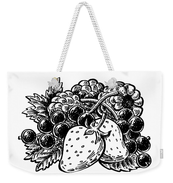 Berries From Forest Weekender Tote Bag