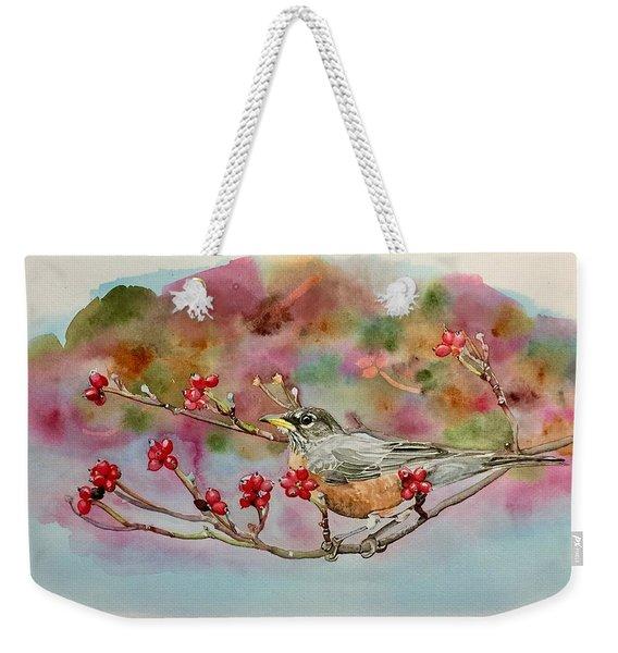 Berry Abundant II Weekender Tote Bag