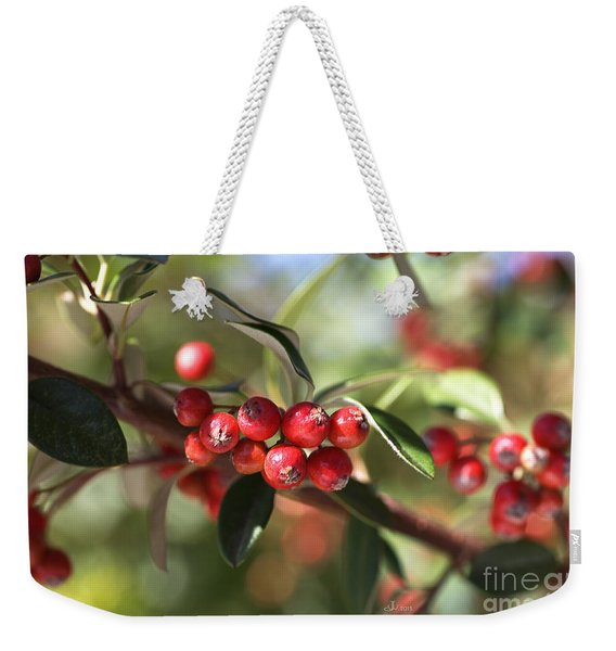 Berry Delight Weekender Tote Bag