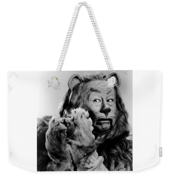 Cowardly Lion In The Wizard Of Oz Weekender Tote Bag