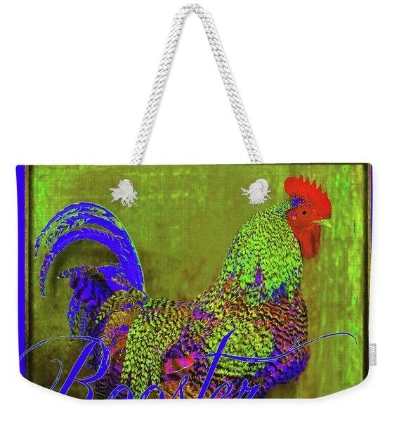 Bert The Rooster Weekender Tote Bag