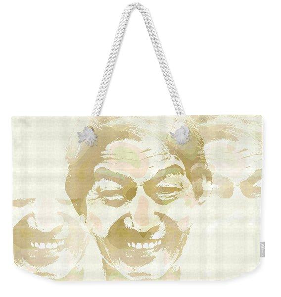 Beside Himself Weekender Tote Bag