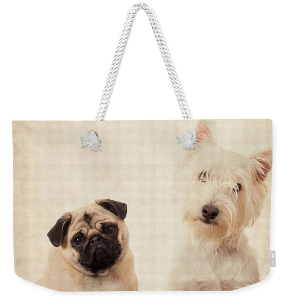 Best Friends Forever Weekender Tote Bag