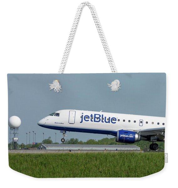 Best In Blue Weekender Tote Bag