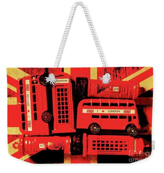 Best Of Britain Weekender Tote Bag
