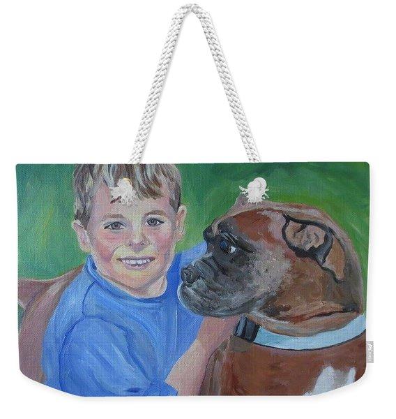Best Pals Weekender Tote Bag