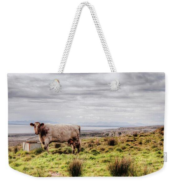 Besty My Irish Cow Weekender Tote Bag