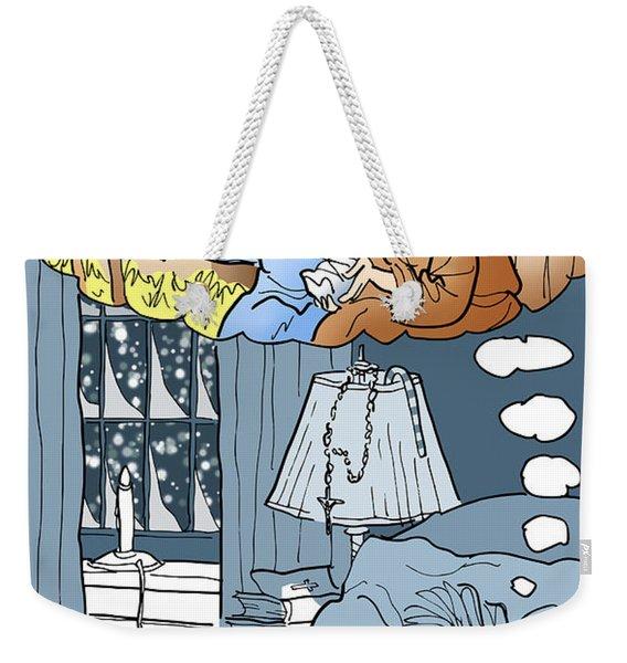 Nativity Selfie Weekender Tote Bag