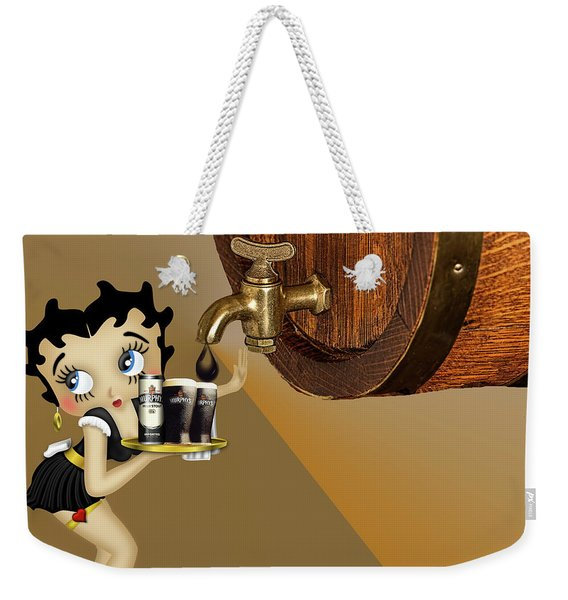 Betty Boop Serving Murphys Weekender Tote Bag