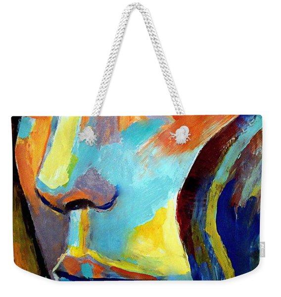 Between Herself And The World Weekender Tote Bag