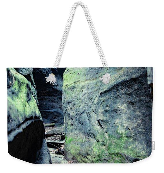 Between The Rocks Weekender Tote Bag