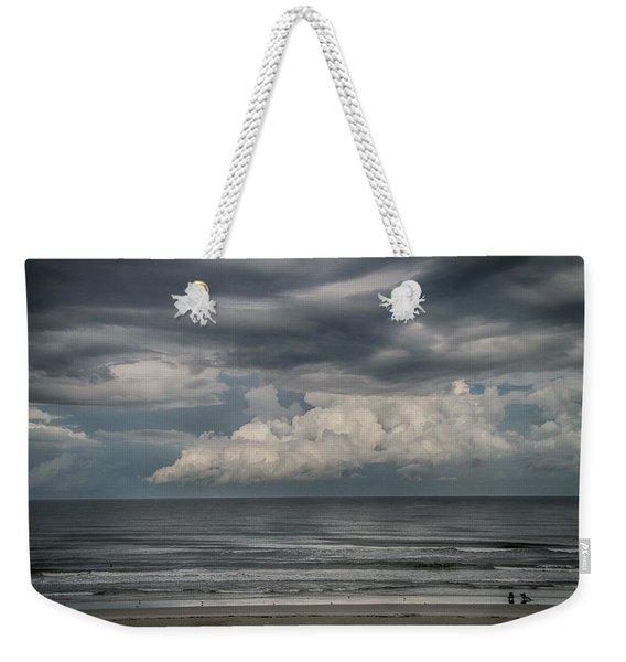 Between The Storms Weekender Tote Bag