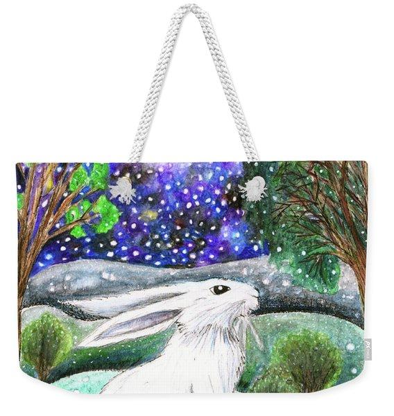 Between The Trees Weekender Tote Bag