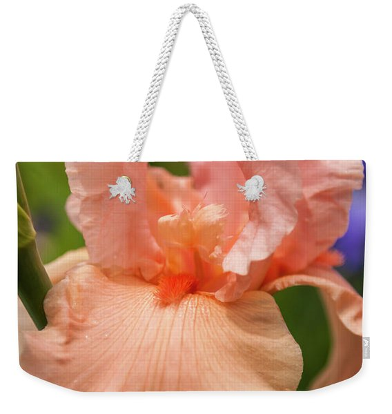 Beverly Sills Iris, 2 Weekender Tote Bag