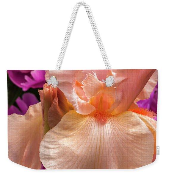 Beverly Sills Iris Weekender Tote Bag