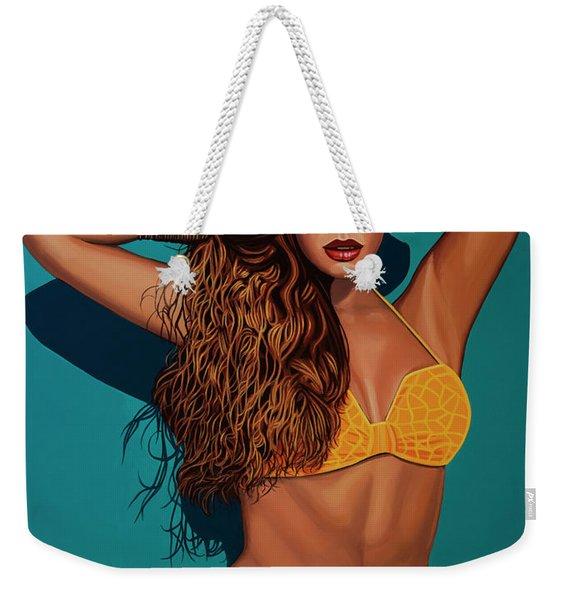 Beyonce 2 Weekender Tote Bag