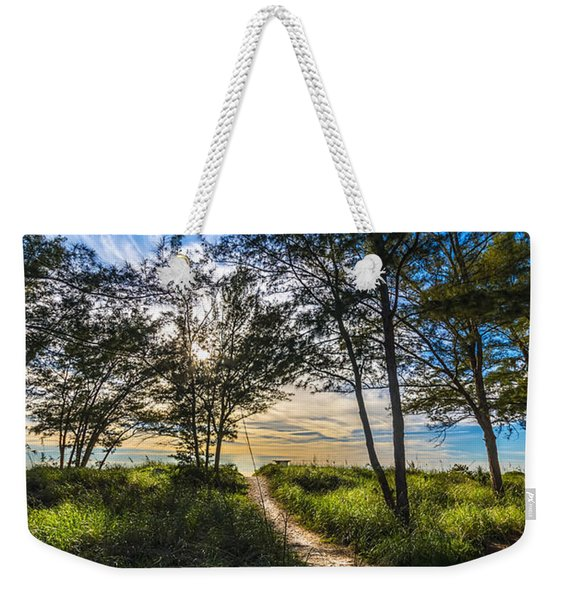 Beyond The Green Grass Weekender Tote Bag