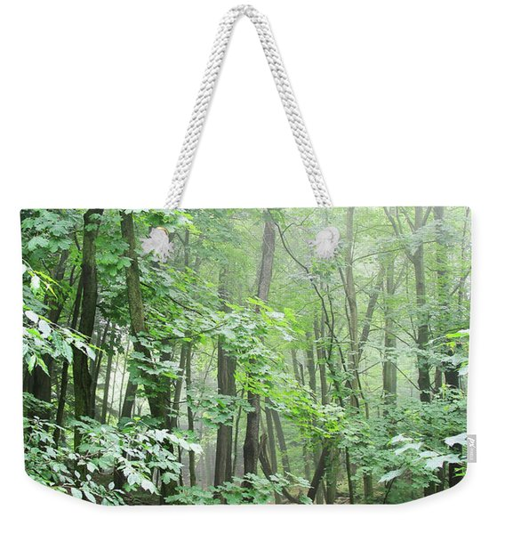 Beyond The Misty Forest Weekender Tote Bag