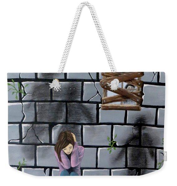 Beyond The Wall Weekender Tote Bag