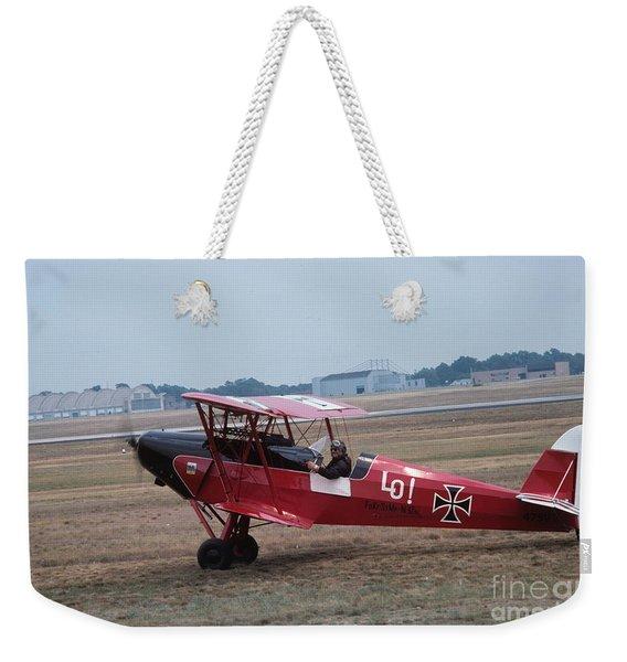 Bi-wing-2 Weekender Tote Bag