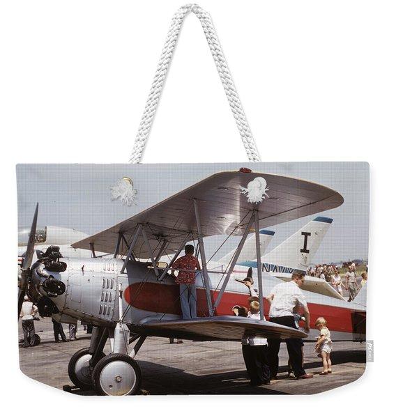 Bi-wing-3 Weekender Tote Bag