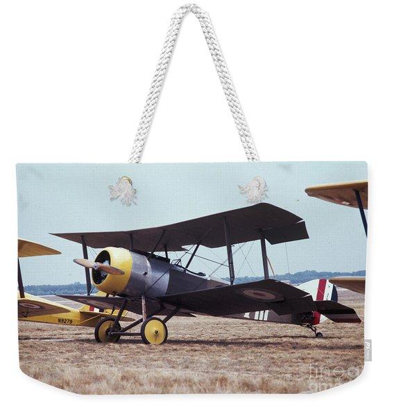 Bi-wing-4 Weekender Tote Bag