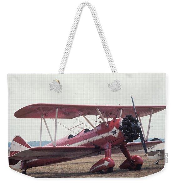 Bi-wing-9 Weekender Tote Bag