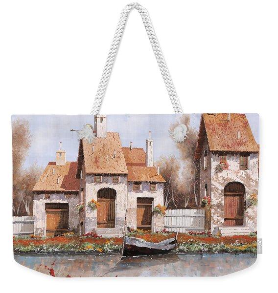 Bianca Weekender Tote Bag