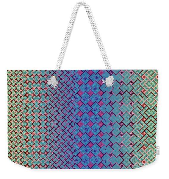 Bibi Khanum Ds Patterns No.3.1 Weekender Tote Bag