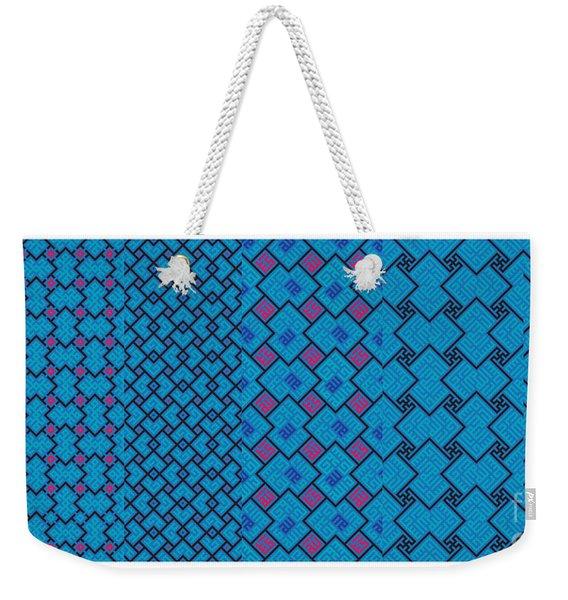 Bibi Khanum Ds Patterns No.7 Weekender Tote Bag