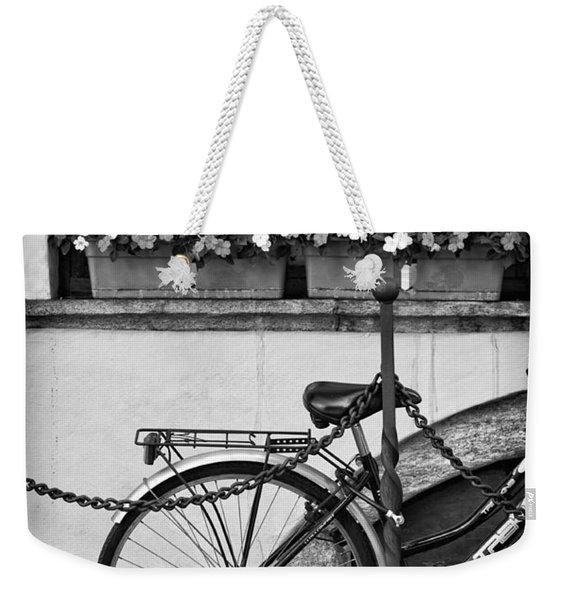 Bicycle With Flowers Weekender Tote Bag
