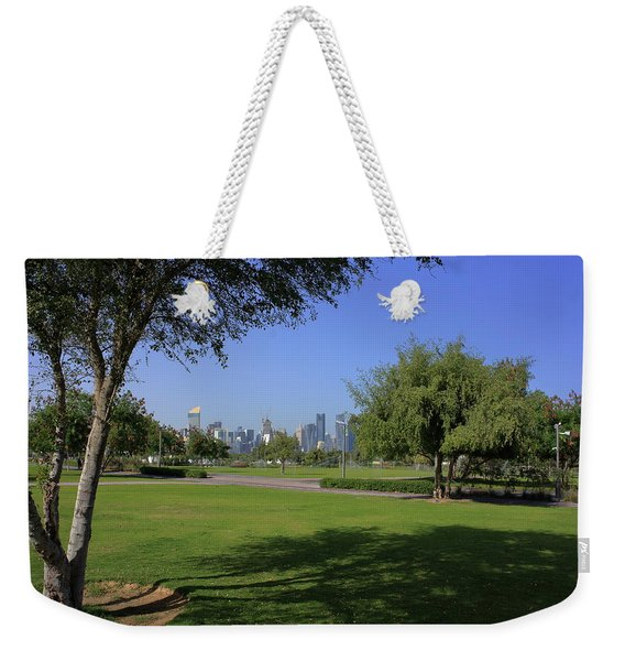 Bidda Park Trees And Towers Weekender Tote Bag