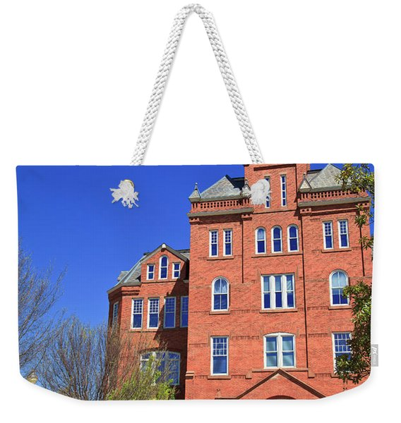 Biddle Hall In The Spring Weekender Tote Bag