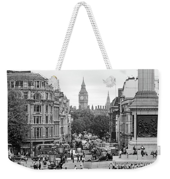Big Ben From Trafalgar Square Weekender Tote Bag