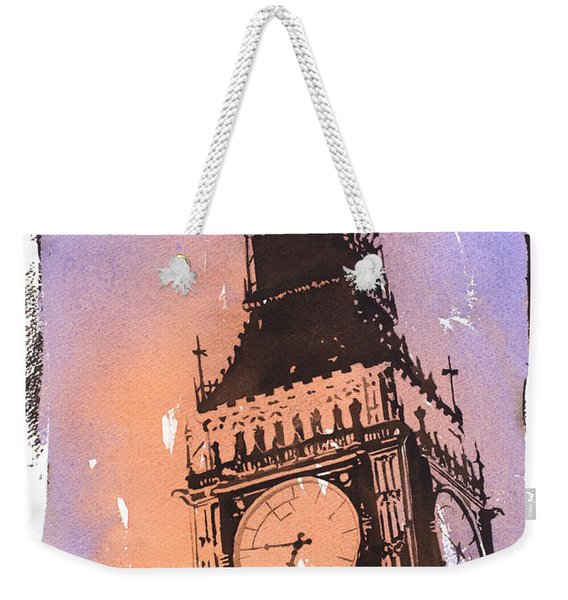 Big Ben IIi Weekender Tote Bag
