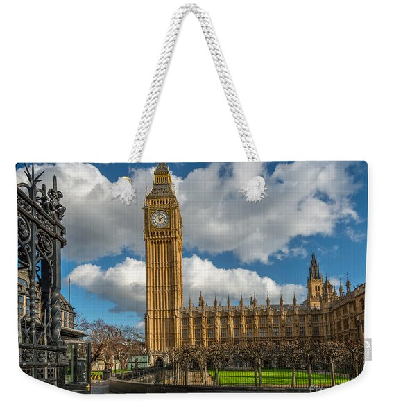 Big Ben London Weekender Tote Bag