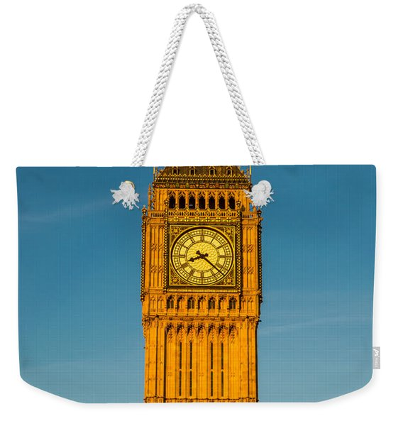 Big Ben Tower Golden Hour London Weekender Tote Bag