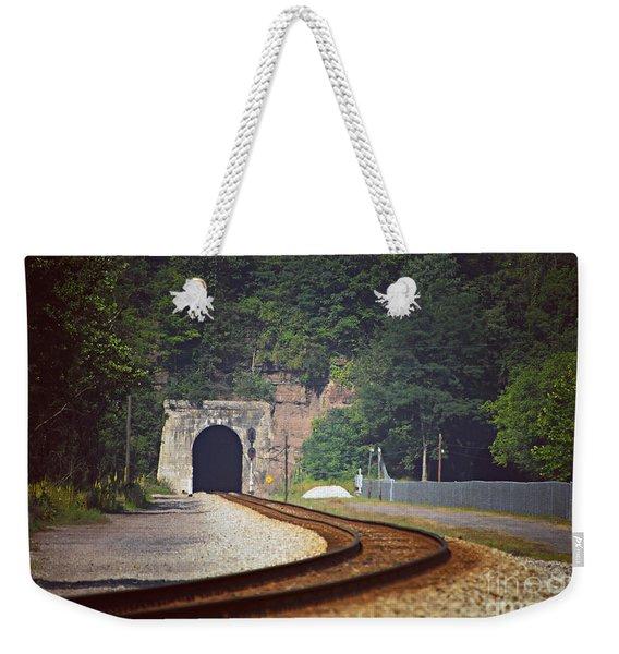 Big Bend Tunnel  Weekender Tote Bag
