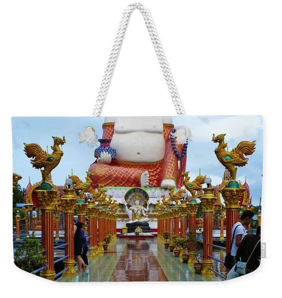 Big Buddha Weekender Tote Bag