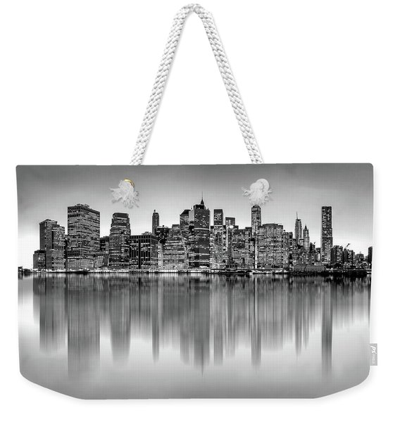 Big City Reflections Weekender Tote Bag