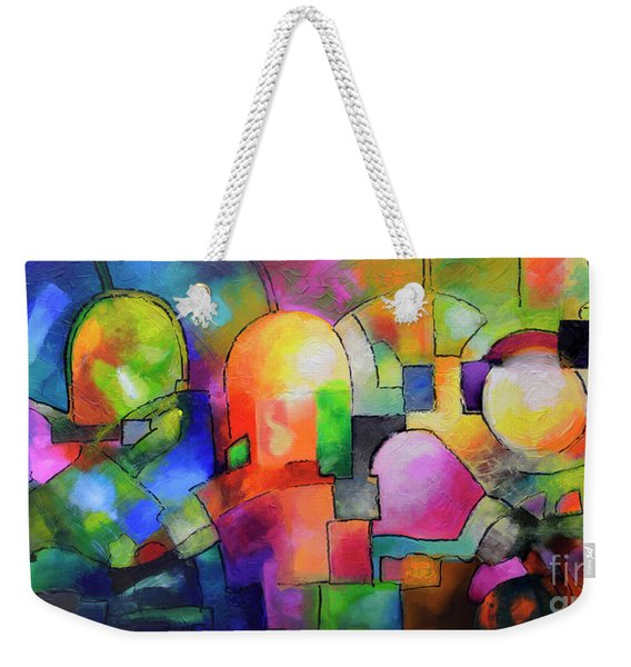 Big City Weekender Tote Bag