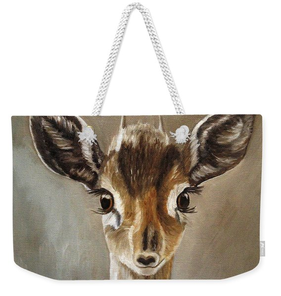 Big Eyes Dik-dik Weekender Tote Bag