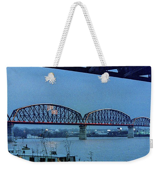 Big Four Bridge Weekender Tote Bag