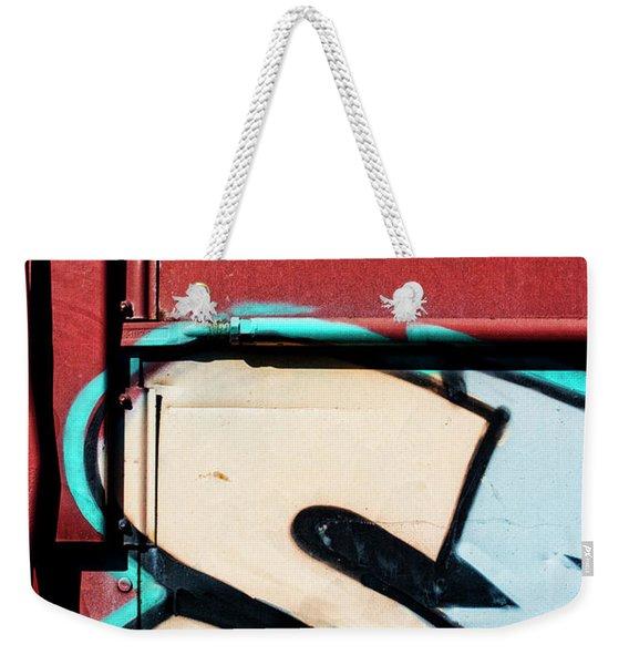 Big Graffiti Letter S Weekender Tote Bag