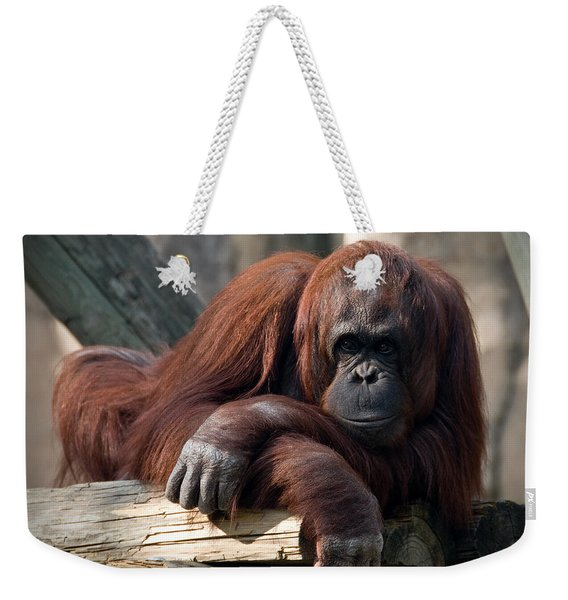 Big Hands Weekender Tote Bag