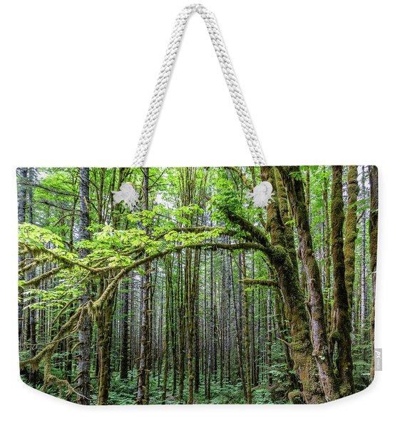 Big Leafe Maples Weekender Tote Bag