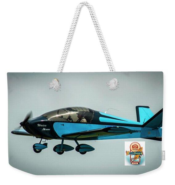 Big Muddy Air Race Number 100 Weekender Tote Bag