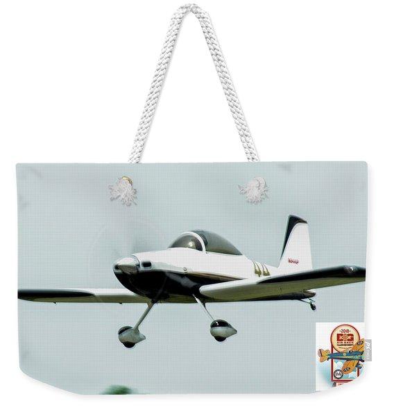 Big Muddy Air Race Number 44 Weekender Tote Bag